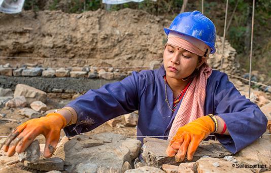 Hilfe nach Erdbeben in Nepal