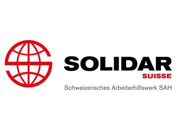 Solidar Suisse, ein Partnerhilfswerk der Glückskette
