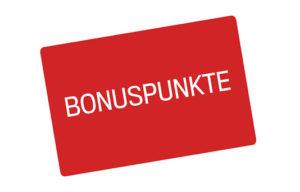 Symbolbild einer Karte mit Bonuspunkten