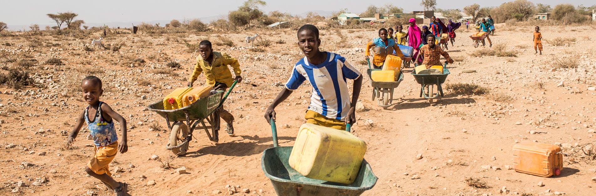 Hungersnot in Afrika – Über 11 Millionen Franken Spenden bei der Glückskette eingegangen