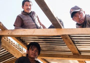 Zwei Jahre nach dem Erdbeben in Nepal ist der Wiederaufbau trotz Herausforderungen im Gange