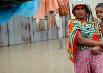 Südasien: Schlimme Überschwemmungen nach Monsun