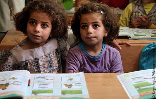 «Jeder Rappen zählt» 2017: Bildung. Eine Chance für Kinder in Not