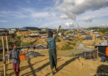 Den Rohingya-Flüchtlingen in Bangladesch droht eine weitere Katastrophe