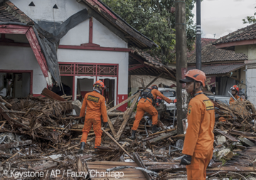 Erneuter Tsunami in Indonesien