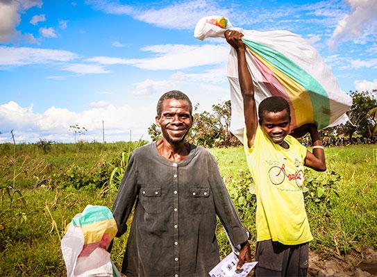 Wirbelsturm in Mosambik