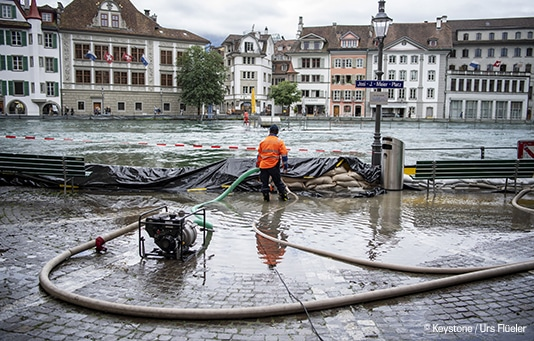 Naturkatastrophen Schweiz: Hilfe dank permanentem Fonds