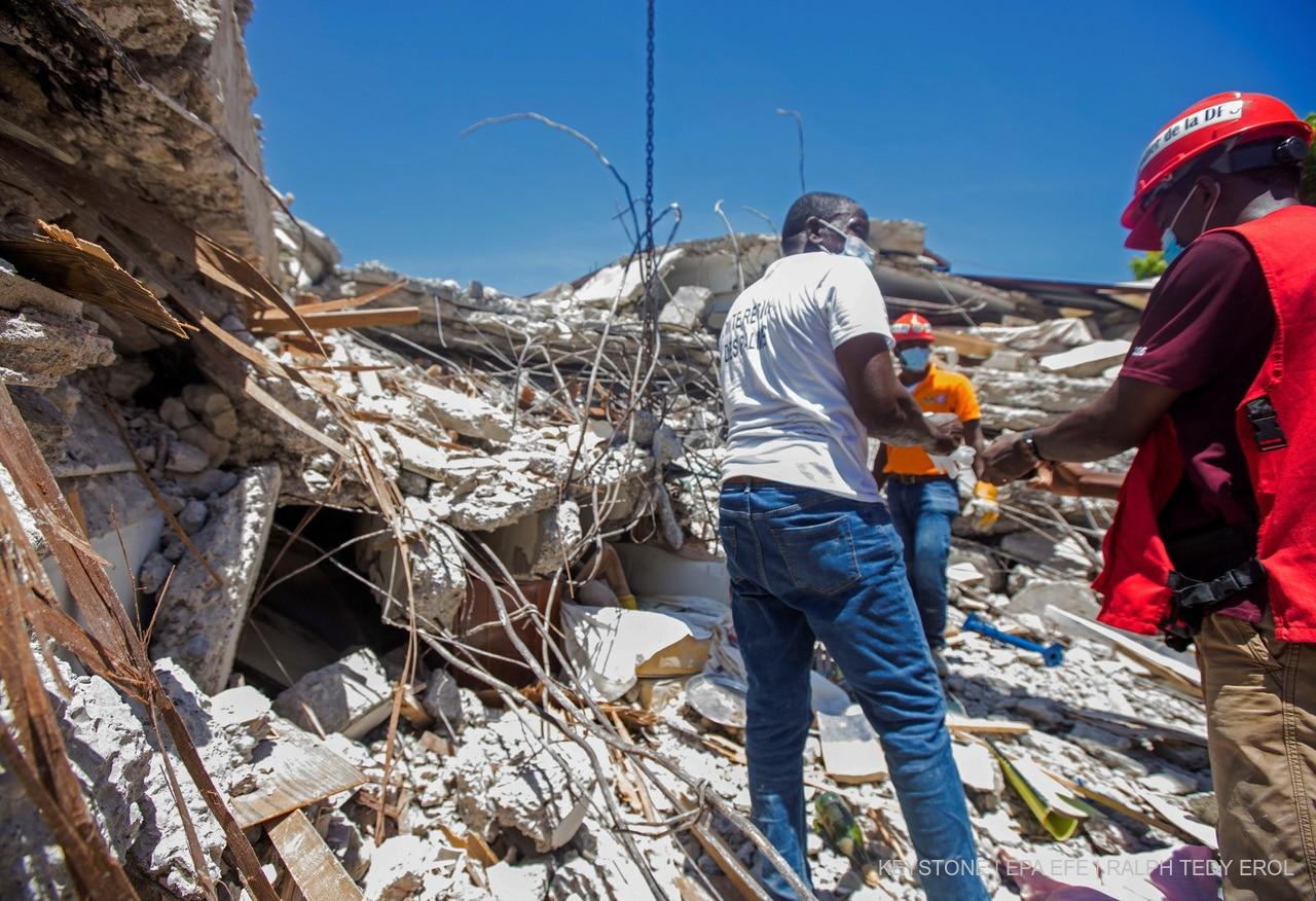 Glückskette öffnet Spendenkonto nach Erdbeben auf Haiti