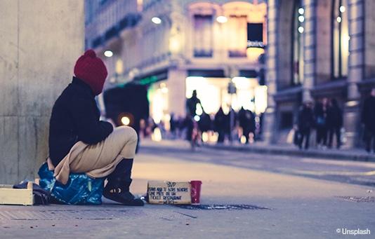 Unterstützung für Obdachlose und ausgegrenzte Menschen in der Schweiz